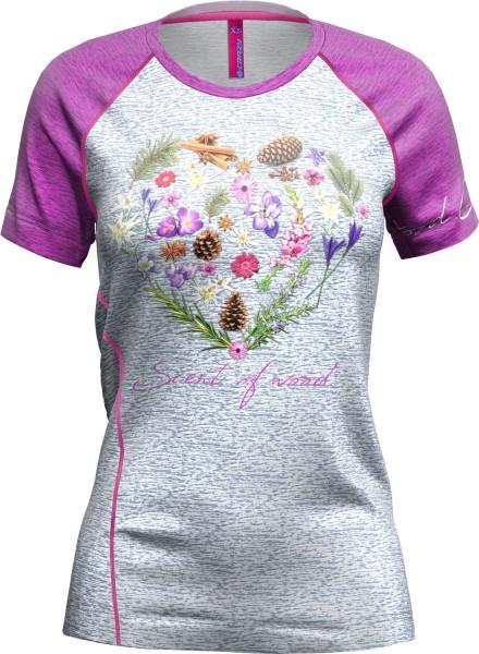 T-Shirt Mountain Flash Woman