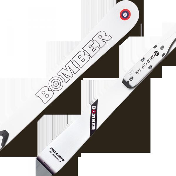 Pro Carve White + Plate Speedlook + Bindungs B412