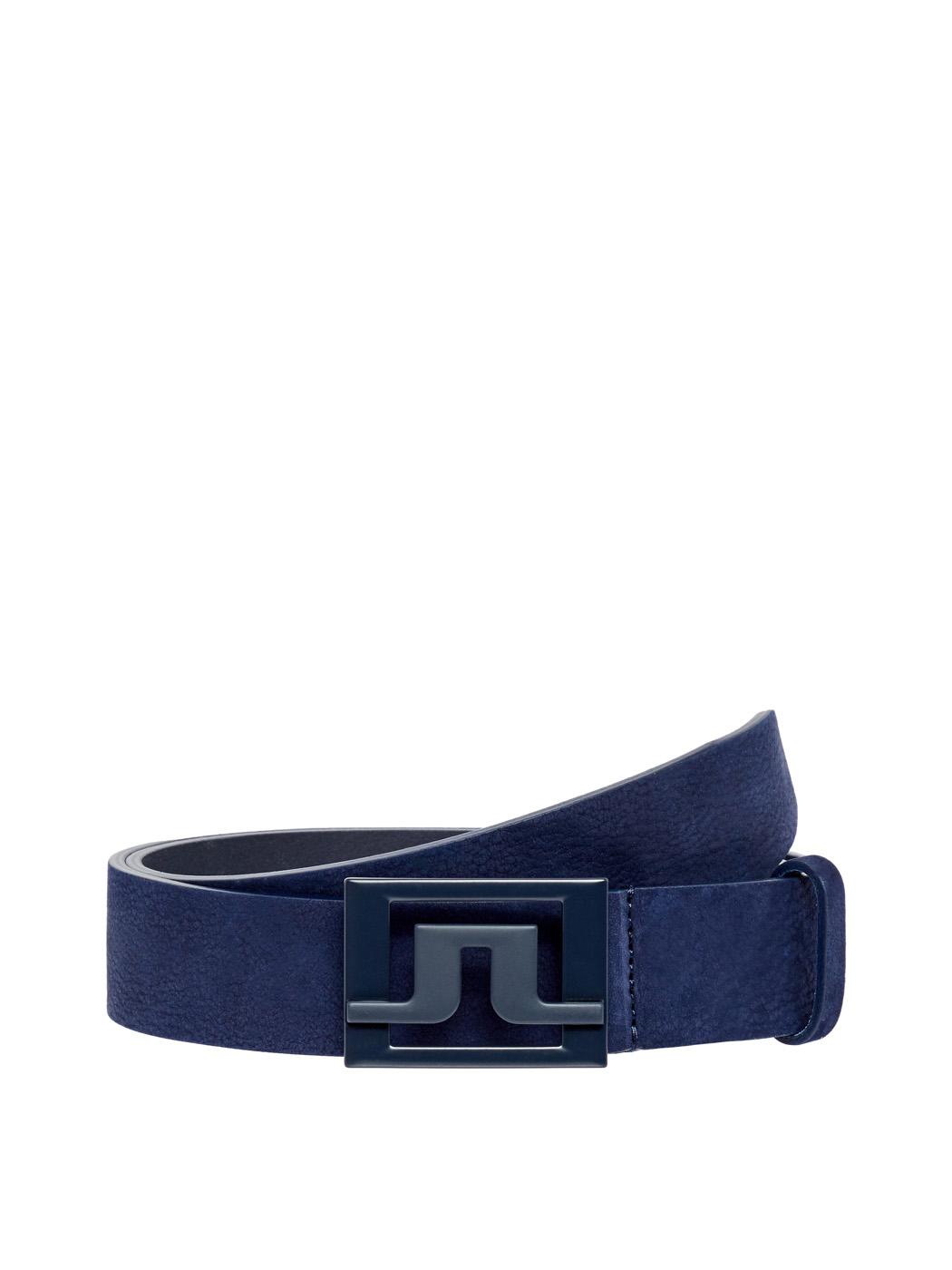 J.Lindeberg Mens Slater 40 Brushed Leather Belt